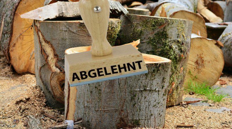 Fotomontage Baumfällungen Bergedorfer Weg in Wentorf